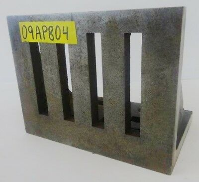 """9"""" x 7"""" x 6"""" Slotted Angle Plate Workholding Fixture"""