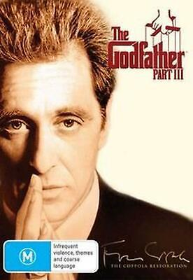 The Godfather Part 3, - Restored - PAL Region 4 Free Shipping!