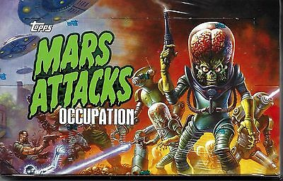 2015 Topps Mars Attacks Occupation hobby sealed 8-box CASE kickstarter exclusive