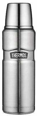 THERMOS Stainless King Isolierflasche / Thermosflasche Edelstahl 0,47 ltr. Neu