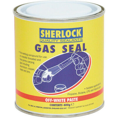 Sherlock Sealants Gas Seal Non-Setting Sealant 400Gm