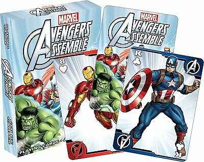 Avengers Assemble Youth set of 52 playing cards (+ jokers) (nm 52354)