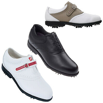 Footjoy Ladies Aql Waterproof Golf Shoes - New Womens Fj Leather Tour Sport 2014
