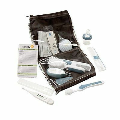 Safety 1st Baby Nursery Deluxe Essentials Health & Grooming Kit Set - Gray