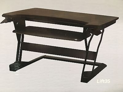 ERGOTRON Home/Office PC Desk Workstation with High Quality Lifting and Lowering