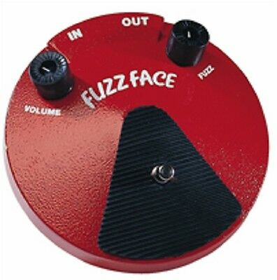 Jim Dunlop Jdf2 Fuzz Face Distortion
