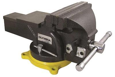 "New Olympia Tool 38-647 Heavy Duty 6"" Inch Cast Iron 360 Degree Bench Vise Sale"