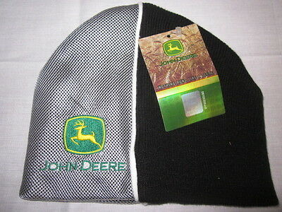 Youth Boys John Deere One Size Fits Most Beanie Winter Hat NWT Free Shipping