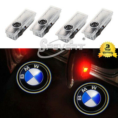 4x LED Logo Step Door Courtesy Ghost Shadow Laser Projector Light For BMW E60 Z4