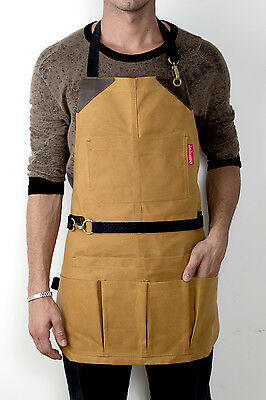 Tool Aprons - Waxed Canvas - No-Tie
