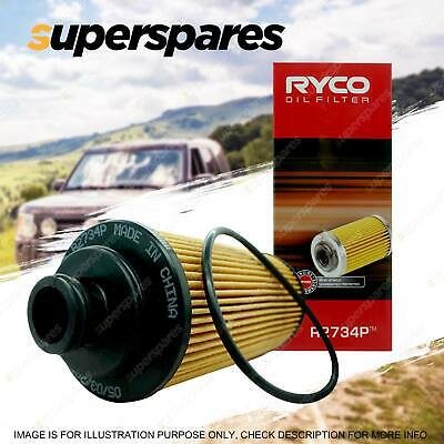 Ryco Oil Filter R2734P for Holden Colorado RG 2.5 2.8 2012-On