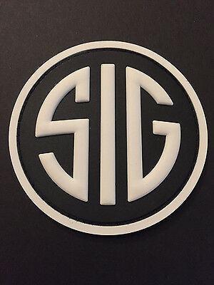 SIG Sauer Firearms  Hook  Fastener Pvc Rubber Patch
