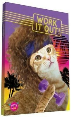 Work It Out! Journal: Cats of 1986 by Chronicle Books (English)