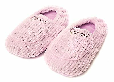 Warmies Spa Therapy Microwavable Slippers Lilac - Gift Boxed