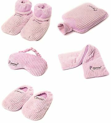 Warmies® Spa Therapy Microwavable Boots, Bottle, Eye Mask, Neck Wrap & Slippers