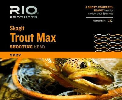 RIO Trout Max Skagit Shooting Head - NEW