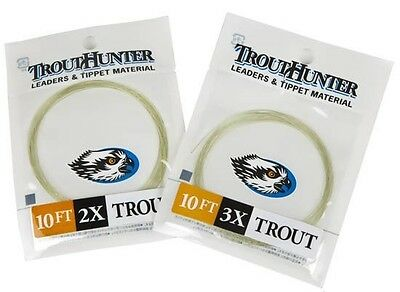 Trout Hunter 10ft Tapered Leaders - NEW