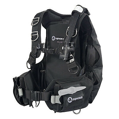 Apeks Bcd Jacket Black Ice 06DE