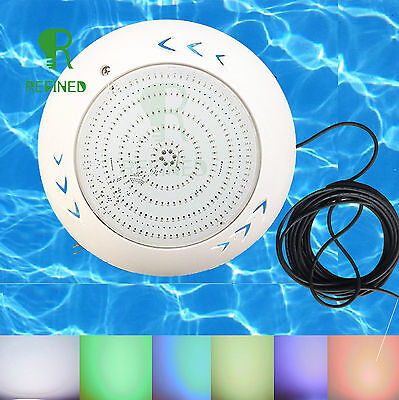 Resin led swimming pool light with 32.8ft cable for Fresh Sea water 18W/42W DHL