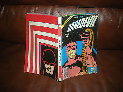 Triple Album Version Integrale Daredevil N°3 - Inclut Les Tomes 7 A 9 Semic 1990
