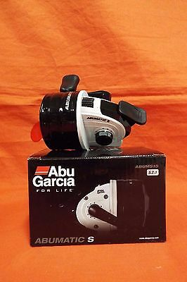 ABU GARCIA Abumatic S Spincast Reel 5.2:1 Gear Ratio #1365379 (ABUMS15)