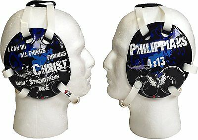 Philippians 4:13 Blue Wrestling Headgear, by 4 Time All American
