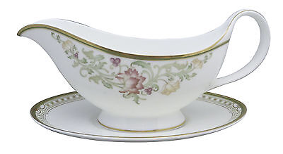 Royal Doulton Lichfield Gravy Boat & Underplate