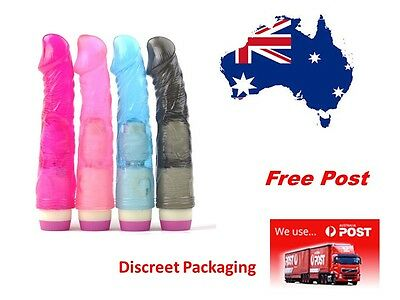Fantasy personal Massager Full Size(22cm) Flexible Bendable ..Pink..Free Post