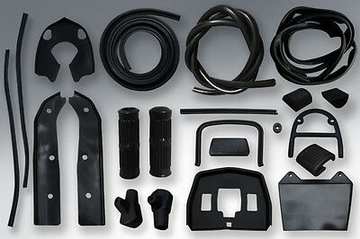 Lambretta Rubber Kit in Black Li SX TV Special & GP