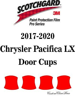 3M Scotchgard Paint Protection Film Pro Series Clear 2017 2018 Chrysler Pacifica