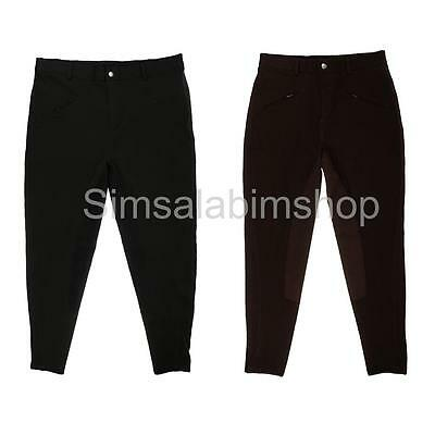 Children Kids Jodhpurs Horse Riding Rider Pants Equestrian Breeches Breathable