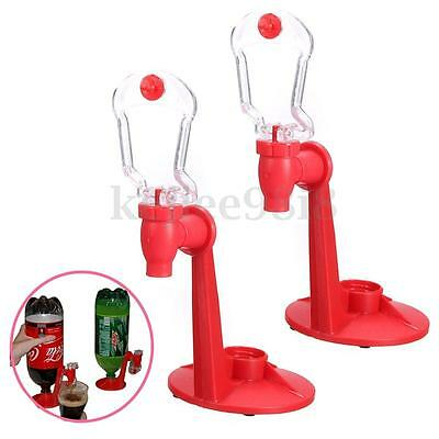 Pack of 2 Soda Dispense Gadget Coke Party Soft Drinking Fizz Saver Water Tool
