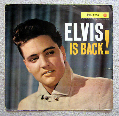 Lp / Elvis Presley / Lpm-2231 / 1 Press / Rca / Top Rarität / 1960 /