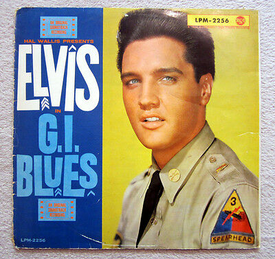 Lp / Elvis Presley / Lpm-2256 / 1 Press / Rca / Top Rarität / 1960 /