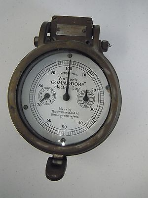 Walkers Commodore Nautical Electric Log Thos. Walker and Son Ltd. England