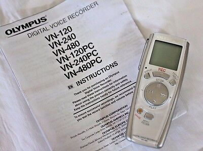 Olympus VN-480 Digital Voice Recorder Dictaphone
