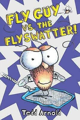 Fly Guy vs. The Flyswatter! by Tedd Arnold (English) Hardcover Book Free Shippin