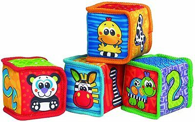 Playgro Grip and Stack Soft Blocks for Baby