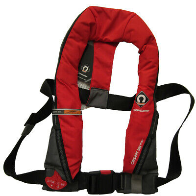 Life Jacket Crewsaver Crewfit Fiery Red Sport 165N Automatic Inflatable