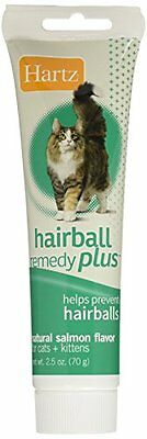 Hartz Hairball Remedy Plus Paste For Cats & Kittens 2.5 New