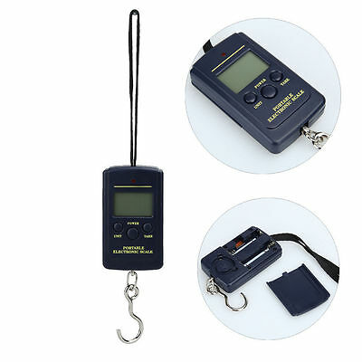 40 KG 10g Electronic Portable Digital Luggage Weight Hanging Scale Hook Travel