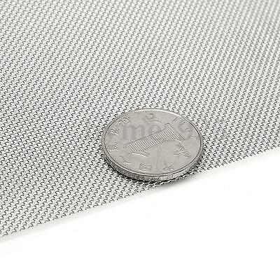 316 Stainless Steel 25 Micron Cloth Screen Filter Sheet Woven Wire 120 x 30cm