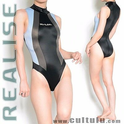 REALISE N037 Badeanzug P-3 SSW wet lycra swimsuit hydrasuit leotard JAPAN IMPORT