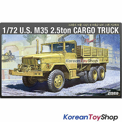 Academy 13410 1/72 Plastic Model Kit US M35 2.5ton Cargo Truck Series 8