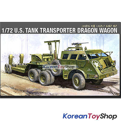 Academy 13409 1/72 Plastic Model Kit US Tank Transporter Dragon Wagon Series 7