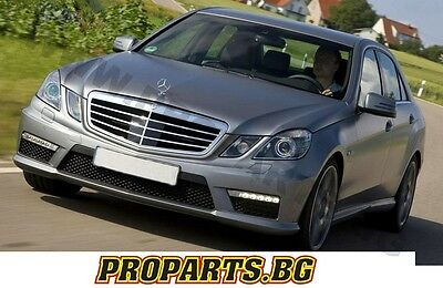 Mercedes Benz E class W212 S212 E63 AMG FRONT SPORT BUMPER BODY KIT WITH DRL PDC