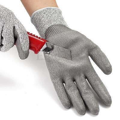 Protective Work Gloves Elastic Cut Proof Stab Resistant Wire Metal Butcher S M L