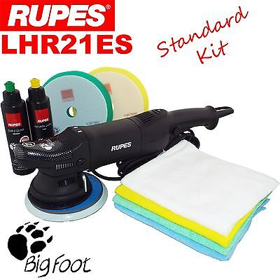 Rupes LHR21ES Standard Kit Orbital Polisher Quarz/Keramik Scratch Remover System
