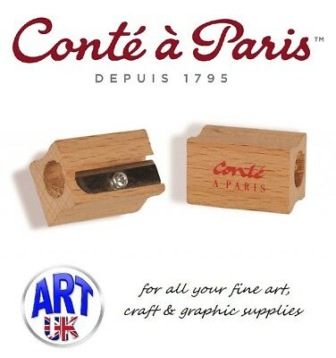 Conte a Paris Large Hole Pencil Sharpener for Artists Pastel/Drawing/Sketching