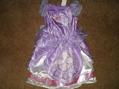 1 of 8 Used Clean Sofia the First Disney Costume  Lot 1